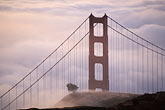 travel stock photography | California, Marin County, Golden Gate Bridge from Marin Headlands, image id 9-593-12