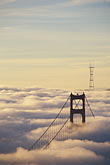 vertical stock photography | California, Marin County, Golden Gate Bridge from Marin Headlands, image id 9-593-34