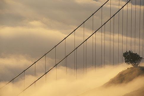 image 9-593-41 California, Marin County, Golden Gate Bridge from Marin Headlands