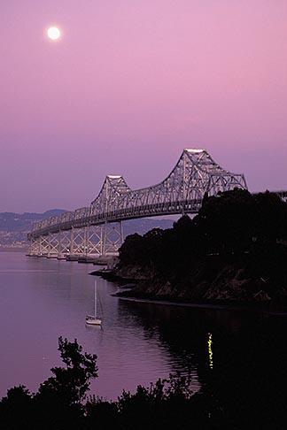 image 9-7-3 California, San Francisco Bay, Bay Bridge from Treasure Island