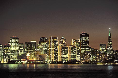image 9-8-18 California, San Francisco, Skyline from Treasure Island