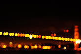 illuminated stock photography | California, San Francisco Bay, Golden Gate Bridge, image id S5-110-7079