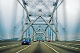 speed stock photography | California, Oakland, Driving across the Bay Bridge, image id S5-143-992