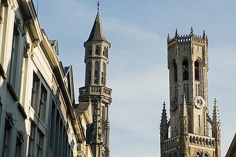 image 8-740-760 Belgium, Bruges, Belfry tower