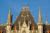 bruges stock photography | Belgium, Bruges, Provincial Palace , image id 8-740-778