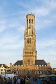 tower stock photography | Belgium, Bruges, Belfry Tower, image id 8-740-844