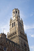 tower stock photography | Belgium, Bruges, Belfry Tower, image id 8-740-881