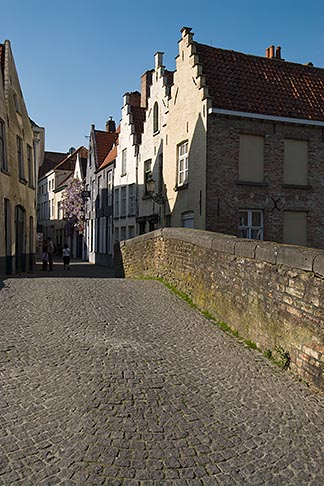 image 8-741-2095 Belgium, Bruges, Bridge over canal