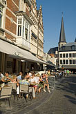 travel stock photography | Belgium, Ghent, Street scene and cafe, image id 8-742-1467