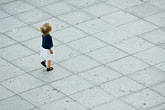travel stock photography | Belgium, Ghent, Young girl on Cathedral Square, image id 8-742-1553