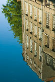 travel stock photography | Belgium, Ghent, Reflection in canal, image id 8-742-1672