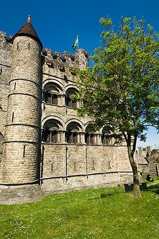image 8-742-1687 Belgium, Ghent, Gravensteen Castle of the Counts