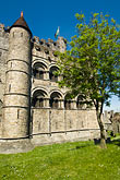 belgium stock photography | Belgium, Ghent, Gravensteen (Castle of the Counts), image id 8-742-1687