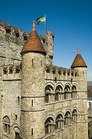 image 8-742-1690 Belgium, Ghent, Gravensteen Castle of the Counts