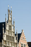 belgium stock photography | Belgium, Ghent, Gabled houses, image id 8-742-1767