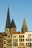 flemish stock photography | Belgium, Ghent, Church towers, image id 8-742-1988