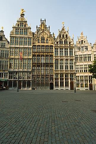 image 8-745-2573 Belgium, Antwerp, Grote Markt, Guild houses