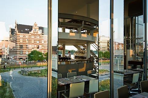 image 8-745-2588 Belgium, Antwerp, Zuiderterras restaurant