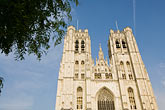 the cathedral stock photography | Belgium, Brussels, Cathedral of St. Michael and St. Gudula, image id 8-746-2886