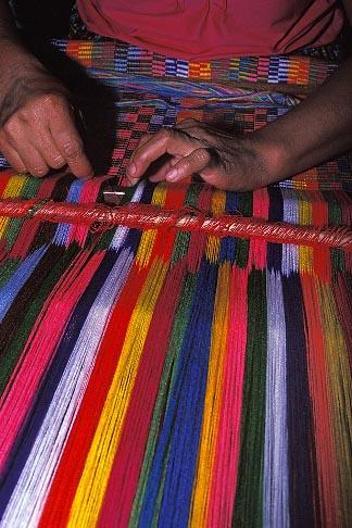 image 6-69-35 Belize, Punta Gorda, Mayan weaver