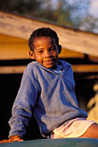 alone stock photography | Belize, Cayo District, Young boy, Cristo Rey, image id 6-94-29