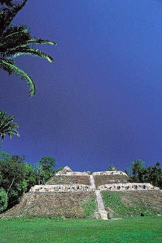 image 6-95-17 Belize, Mayan Sites, Caana pyramid, Caracol
