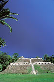 tree and sky stock photography | Belize, Mayan Sites, Caana pyramid, Caracol, image id 6-95-17