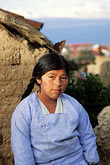 the village stock photography | Bolivia, Lake Titicaca, Aymara girl, Yumani, Isla del Sol, image id 3-102-13
