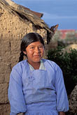the village stock photography | Bolivia, Lake Titicaca, Aymara girl, Yumani, Isla del Sol, image id 3-102-6