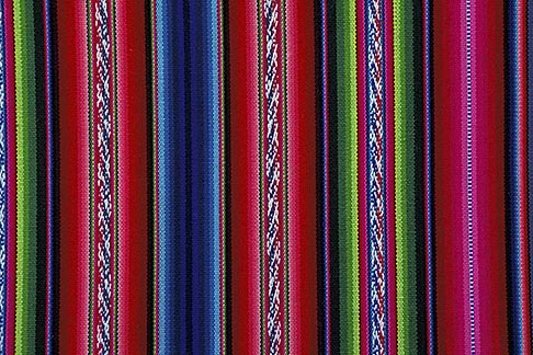 image 3-333-12 Textiles, Woven blanket, Bolivia