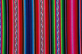 colour stock photography | Textiles, Woven blanket, Bolivia, image id 3-333-12
