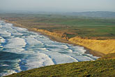 bluff stock photography | California, Point Reyes, Point Reyes Beach from bluff, image id 0-280-23