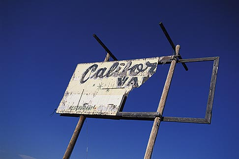 image 1-381-1 California, San Luis Obispo County, California Valley, sign