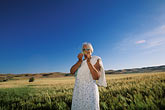 only women stock photography | California, San Luis Obispo County, California Valley, field, image id 1-381-13