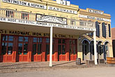west stock photography | California, Sacramento, Old Sacramento storefronts, image id 1-650-91