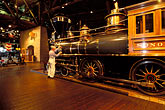 man stock photography | California, Sacramento, California State Railroad Musuem, image id 1-651-14