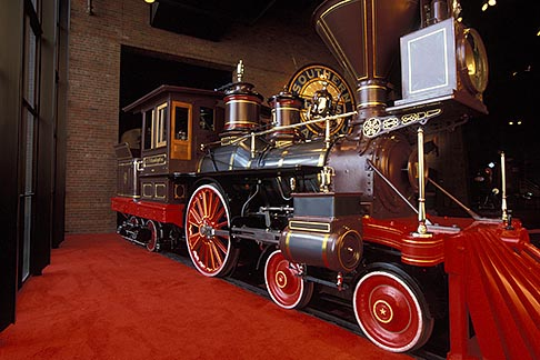 image 1-651-18 California, Sacramento, California State Railroad Musuem