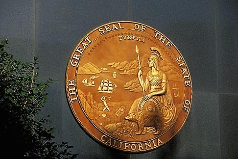 image 1-652-30 California, Sacramento, California State Seal