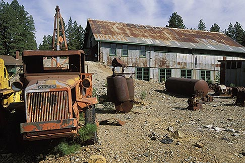 image 1-662-66 California, Grass Valley, Empire Mine State Historical Park
