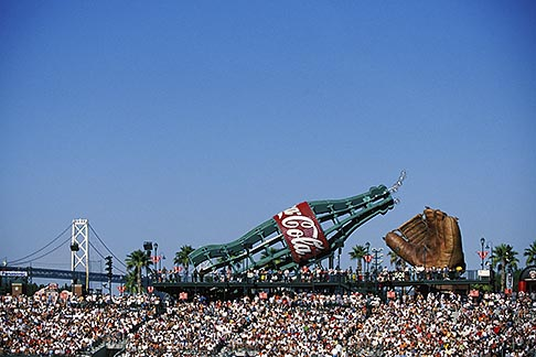 image 1-690-51 California, San Francisco, SBC Park, bleachers