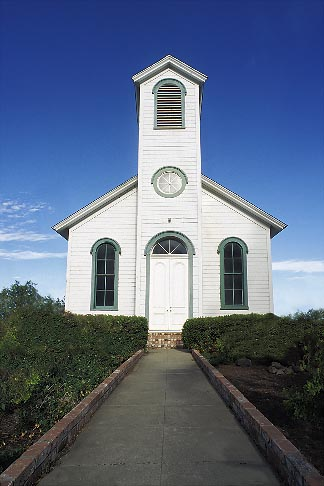 image 1-858-30 California, Solano County, Shiloh church