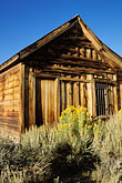 nevada stock photography | California, Sierra Nevada, Jail, Bodie State Historical Park, image id 3-296-23