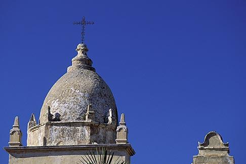 image 3-321-26 California, Carmel, Carmel Mission Church Tower