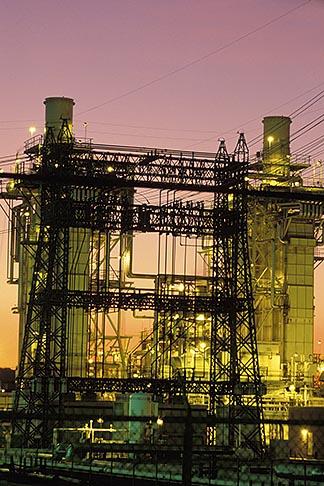 image 3-359-2 California, Contra Costa, Power Plant, Martinez