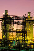 sunset stock photography | California, Contra Costa, Power Plant, Martinez, image id 3-359-2