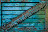 blue stock photography | Still life, Weathered wooden gate with crossbar, image id 4-222-21