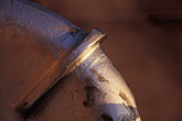 undulate stock photography | Still life, Pipe detail, image id 4-259-12