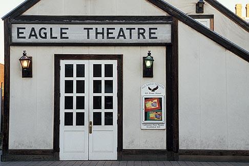 image 4-309-36 California, Sacramento, Eagle Theater, Old Sacramento, 1849