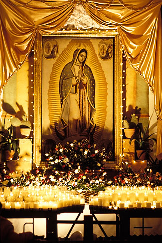 image 4-531-5 California, Missions, Virgin of Guadalupe, Mission San Juan Bautista