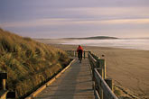 two people stock photography | California, Bodega Bay, Boardwalk, Bodega Dunes, image id 4-562-45